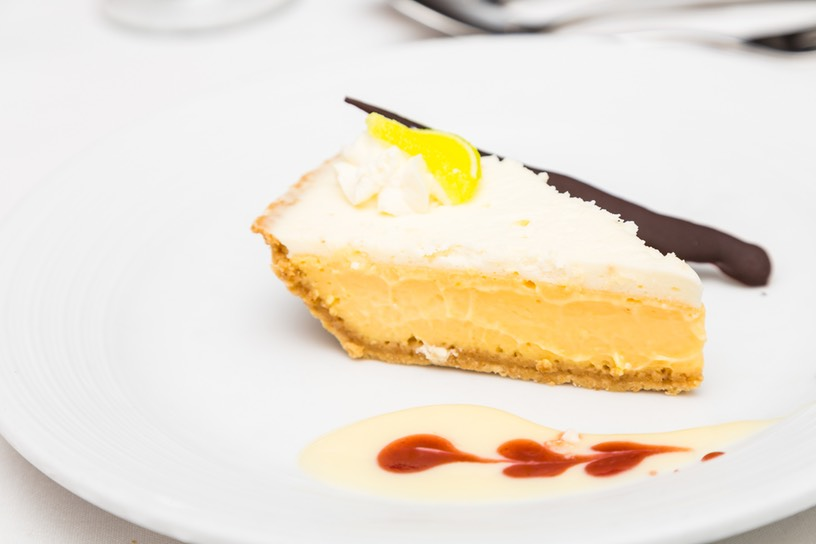 KEY LIME PIE RASPBERRY COULIS